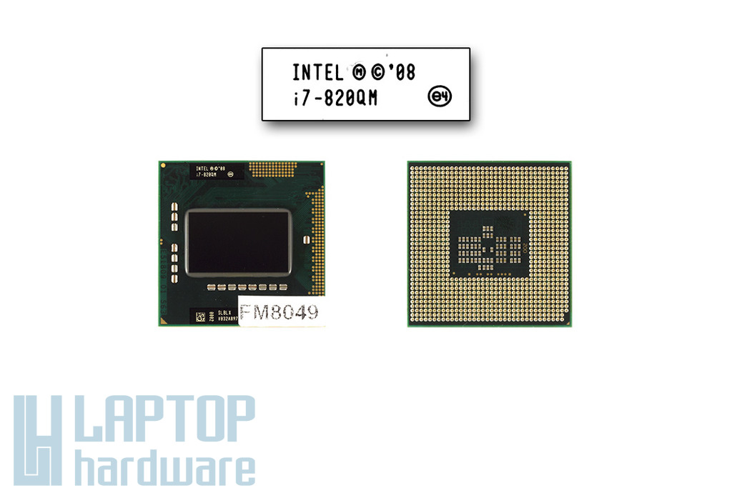 Intel Core i7-820QM 1733MHz (Turbo: 3067MHz) gyári új laptop CPU