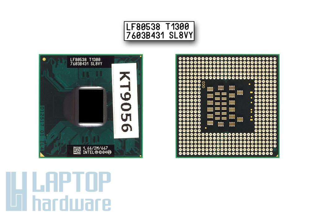 Intel Core Solo T1300 1667MHz használt laptop CPU (SL8VY)
