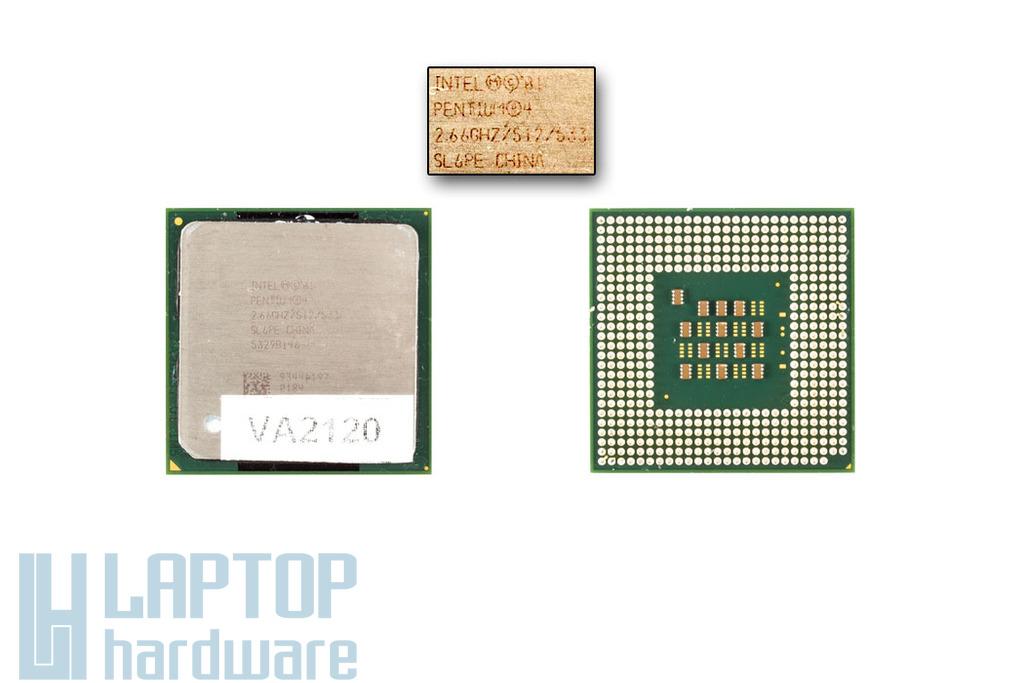 Intel Pentium 4 Desktop 2667MHz használt laptop CPU (SL6PE, SL6S3)