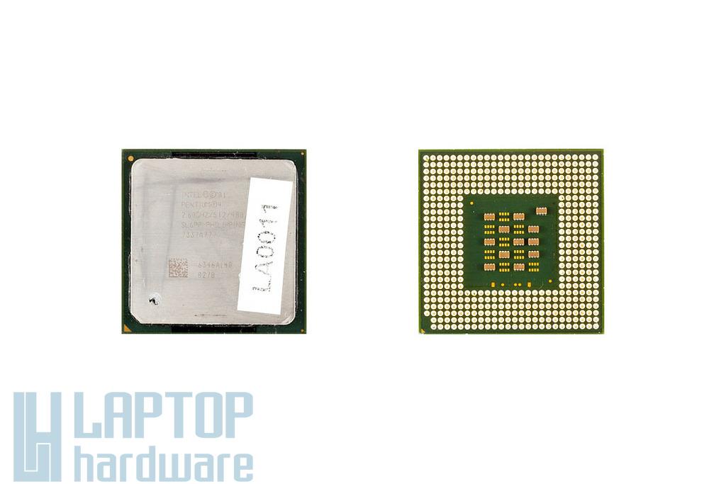 Intel Pentium 4 Desktop 2600MHz használt laptop CPU (SL6PP)