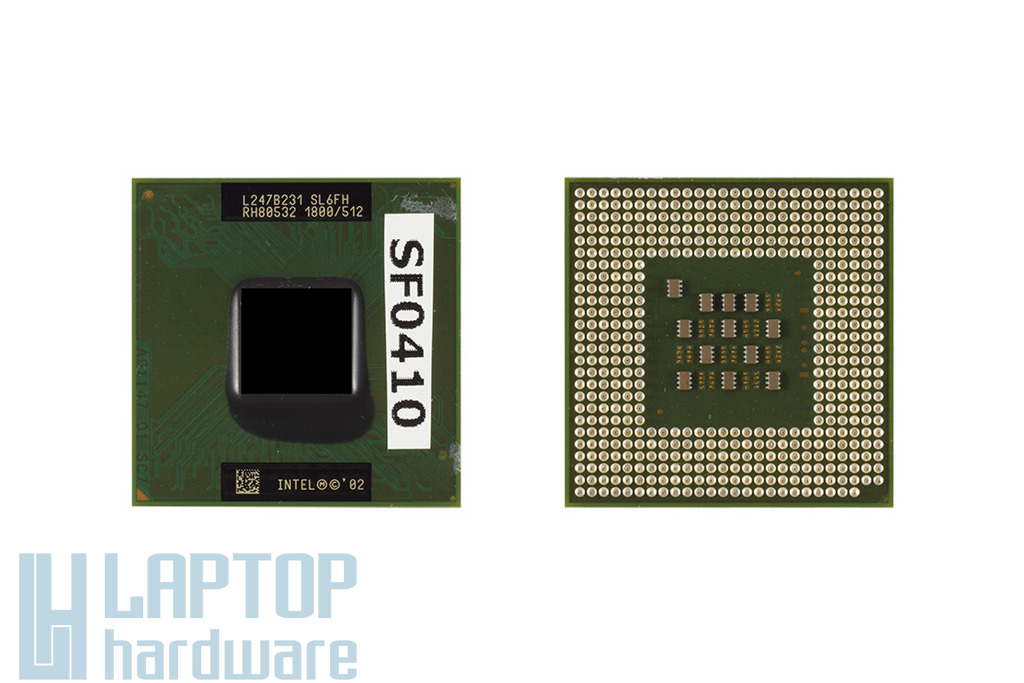Intel Pentium 4-M 1800MHz használt laptop CPU (SL6FH)