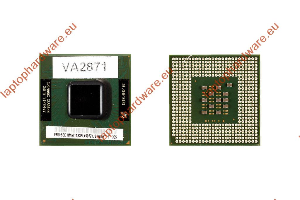 Intel Pentium 4 M 2000MHz használt laptop CPU (SL6FK)
