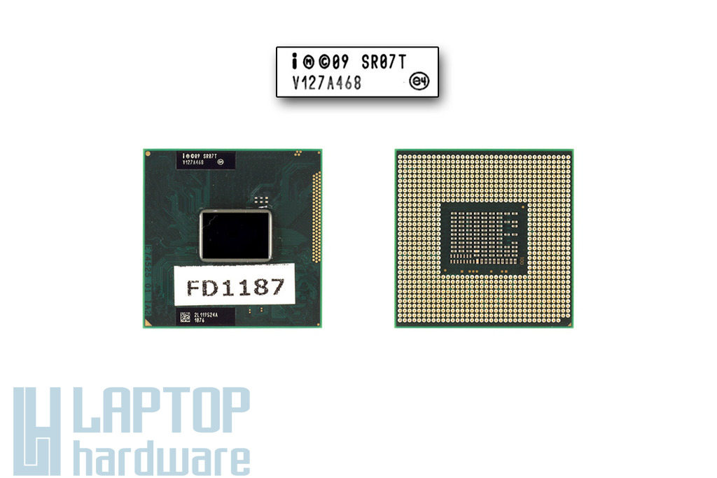 Intel Pentium Dual-Core B950 2100MHz használt laptop CPU (SR07T)