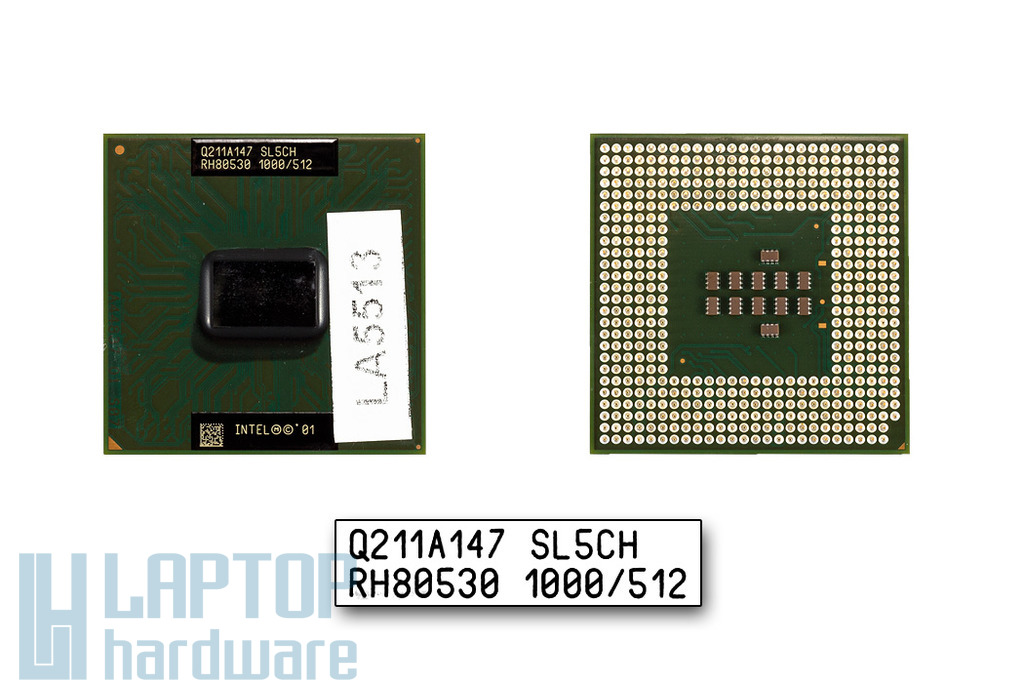 Intel Pentium III-M 1000 MHz használt laptop CPU (SL5CH)