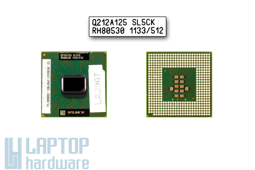 Intel Pentium III M 1133MHz használt laptop CPU