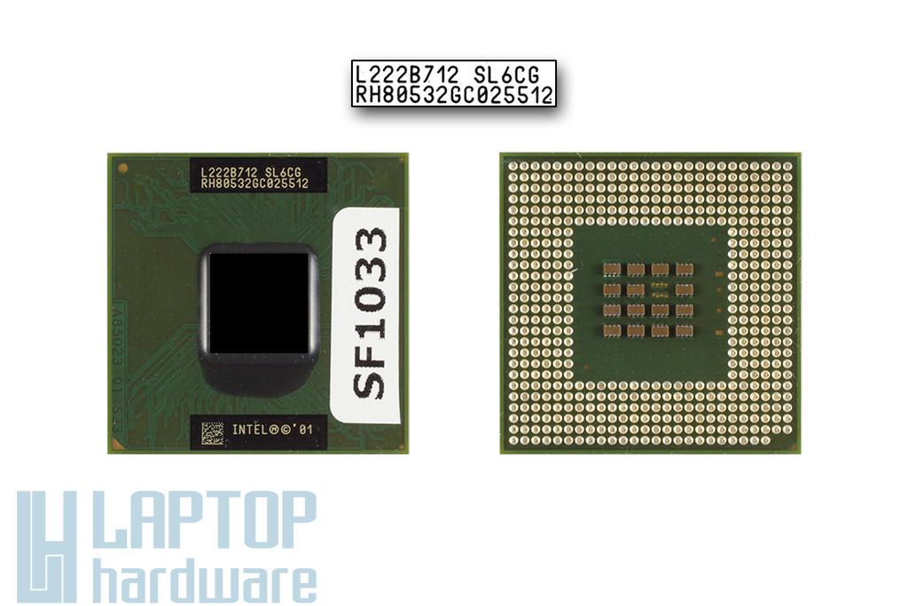Intel Pentium M 1600MHz használt laptop CPU (SL6CG, SL6FF)