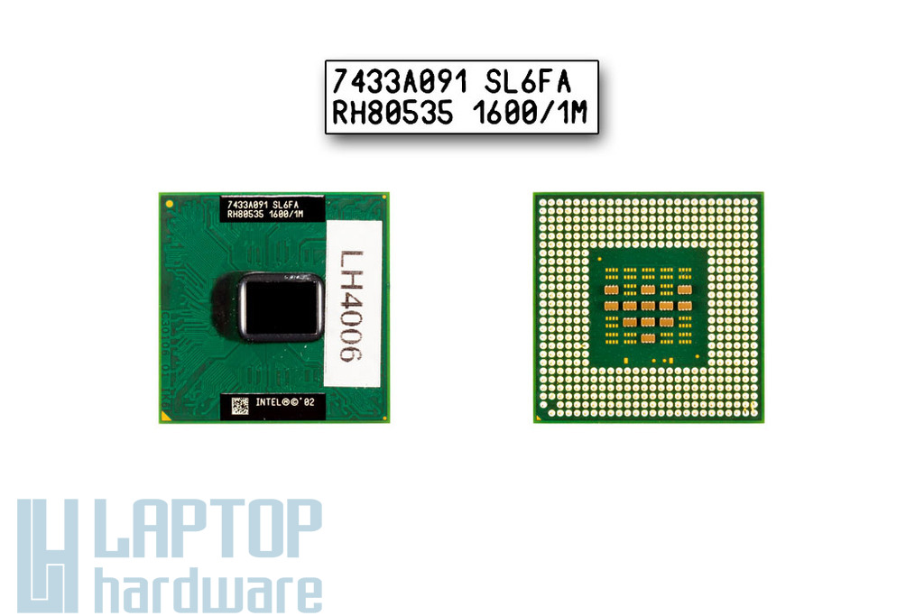 Intel Pentium M 1600MHz használt laptop CPU