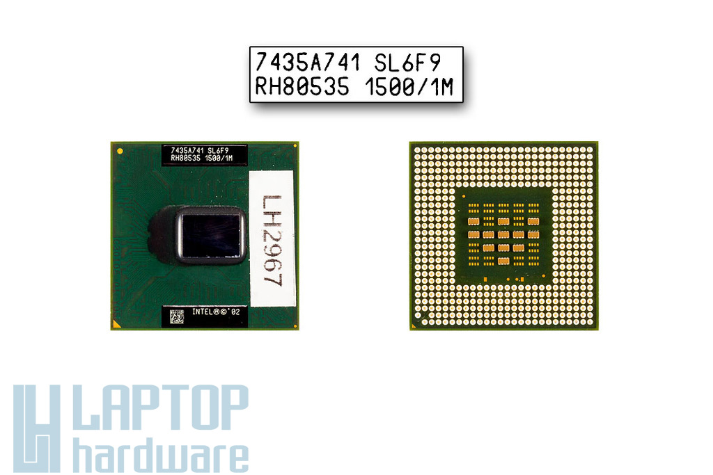 Intel Pentium M 705 1500MHz használt laptop CPU (SL6F9)