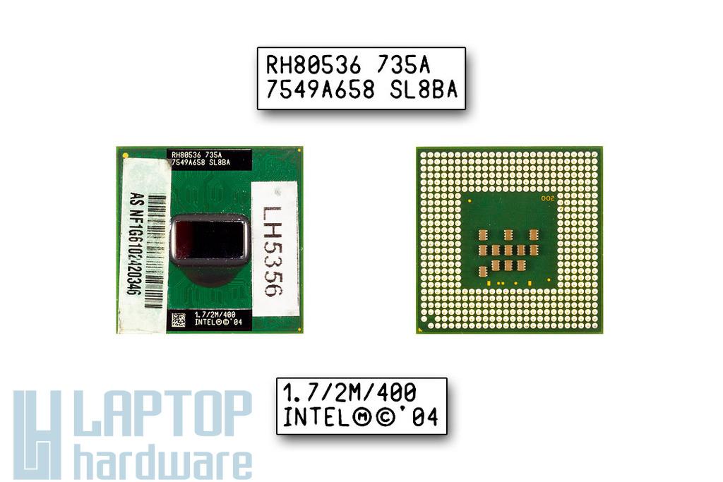 Intel Pentium M 735A 1700MHz használt laptop CPU (SL7EP)