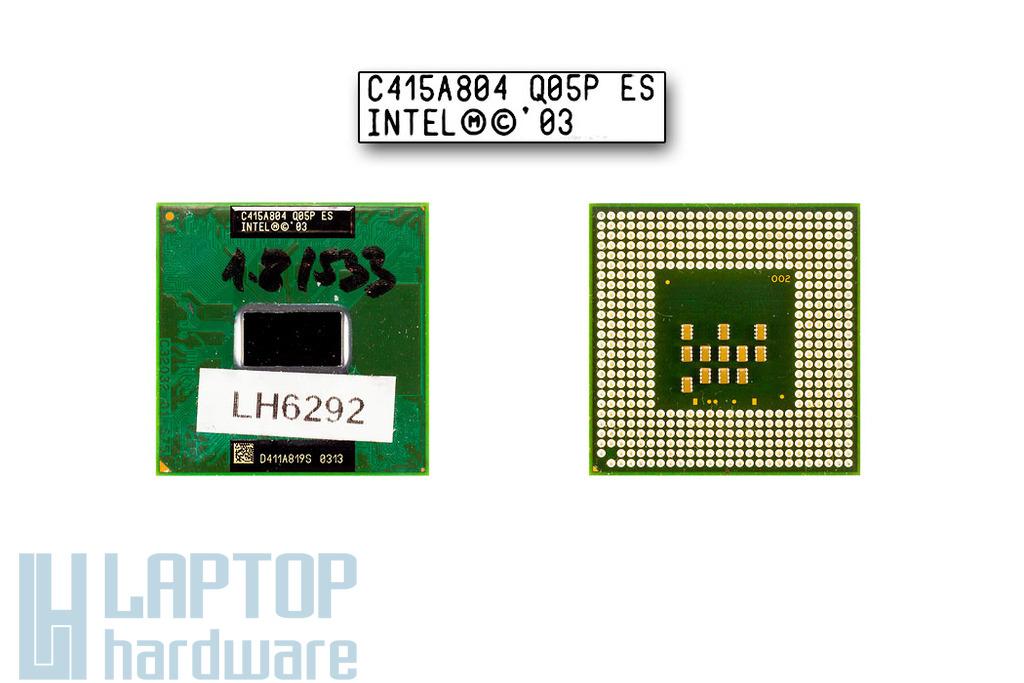 Intel Pentium M750 1860MHz használt laptop CPU (SL7S9)
