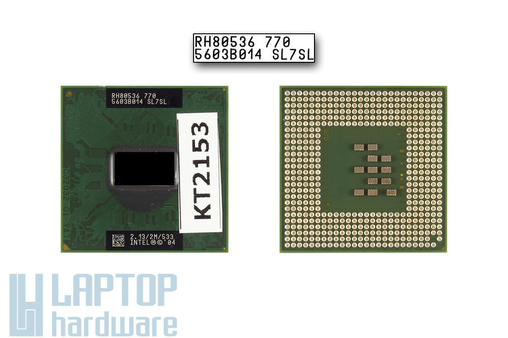 Intel Pentium M 780 2266MHz használt laptop CPU (QAPH)