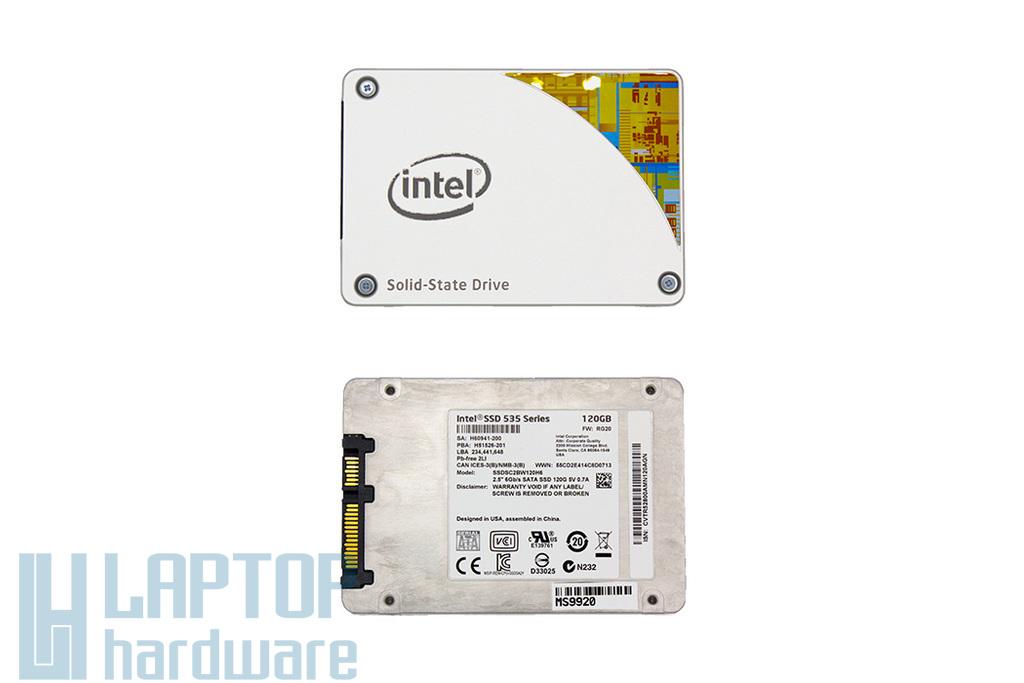 Intel SSD 535 Series 120GB (SSDSC2BW120H601) | 3 év garancia! | Ingyenes beszereléssel!