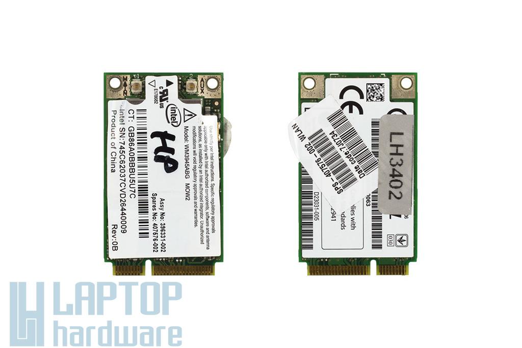 Intel WM3945ABG használt Mini PCI WiFi kártya HP laptophoz (407576-002)