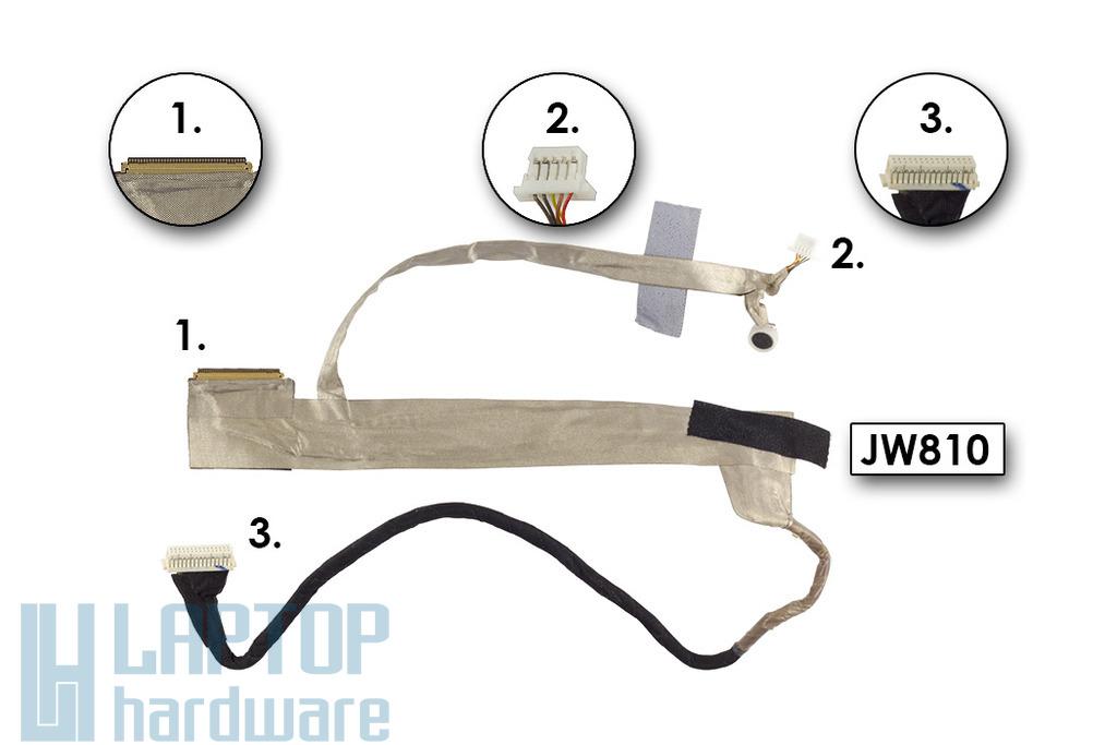 J&W Minix M1100 laptophoz használt kijelző kábel, JW810