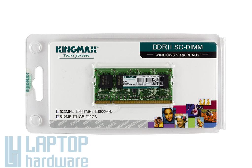 512MB DDR2 533MHz gyári új laptop memória