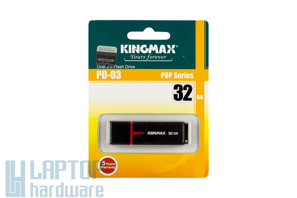 Kingmax PD-03 32GB fekete pendrive (KM32GPD03)