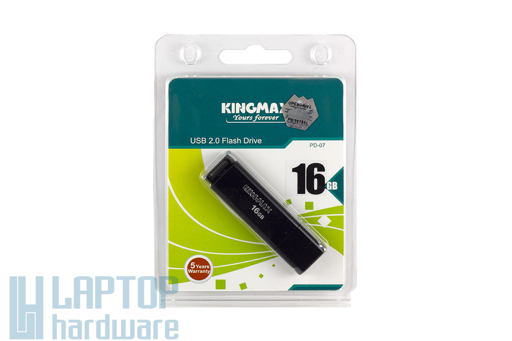 Kingmax PD-07 16GB fekete pendrive (KM16GPD07B)