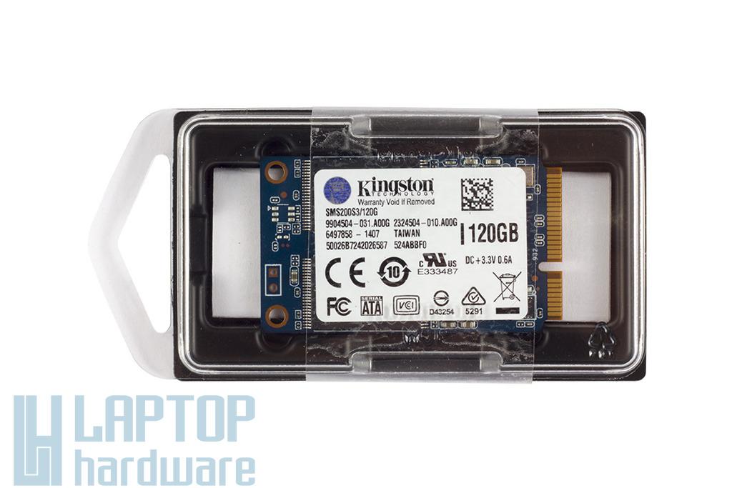 Kingston 120GB gyári új mSATA laptop SSD kártya, SMS200S3/120G
