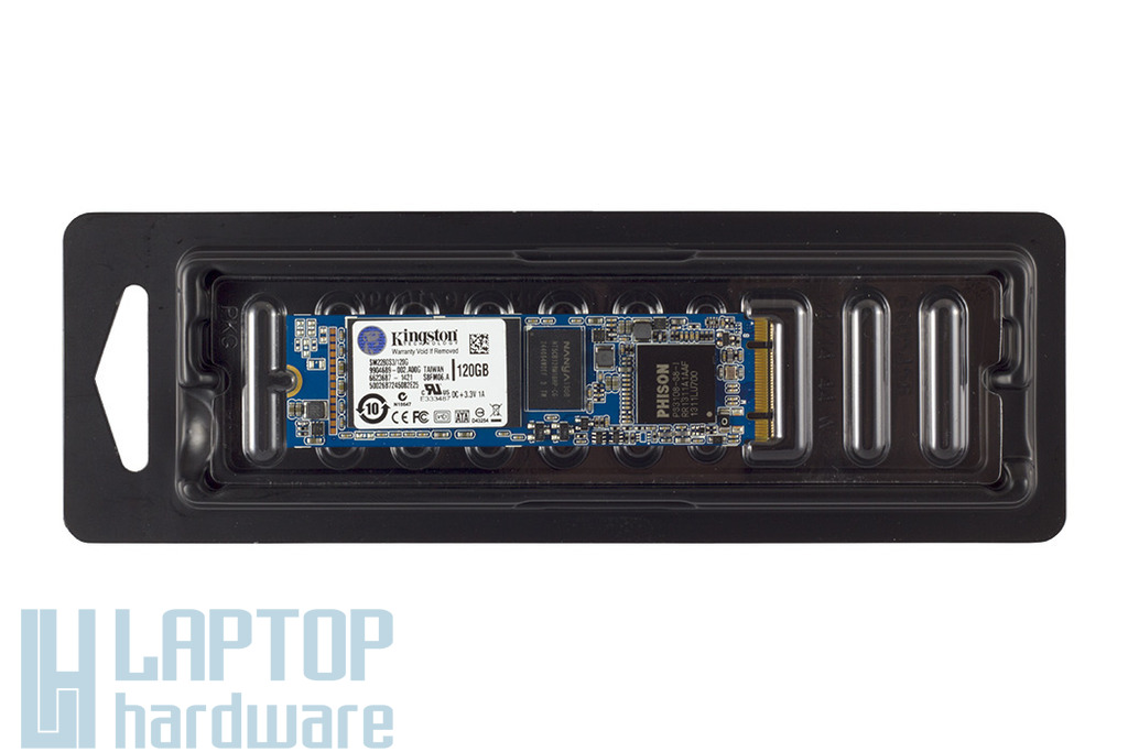Kingston 120GB M.2 SATA SSD kártya, SM2280S3/120G