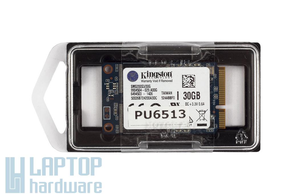 Kingston 30GB gyári új mSATA laptop SSD kártya, SMS200S3/30G