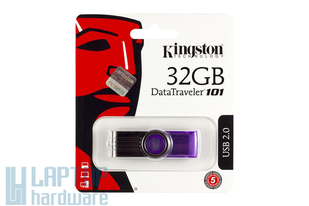 Kingston 32GB lila pendrive (DT101G2/32GB)