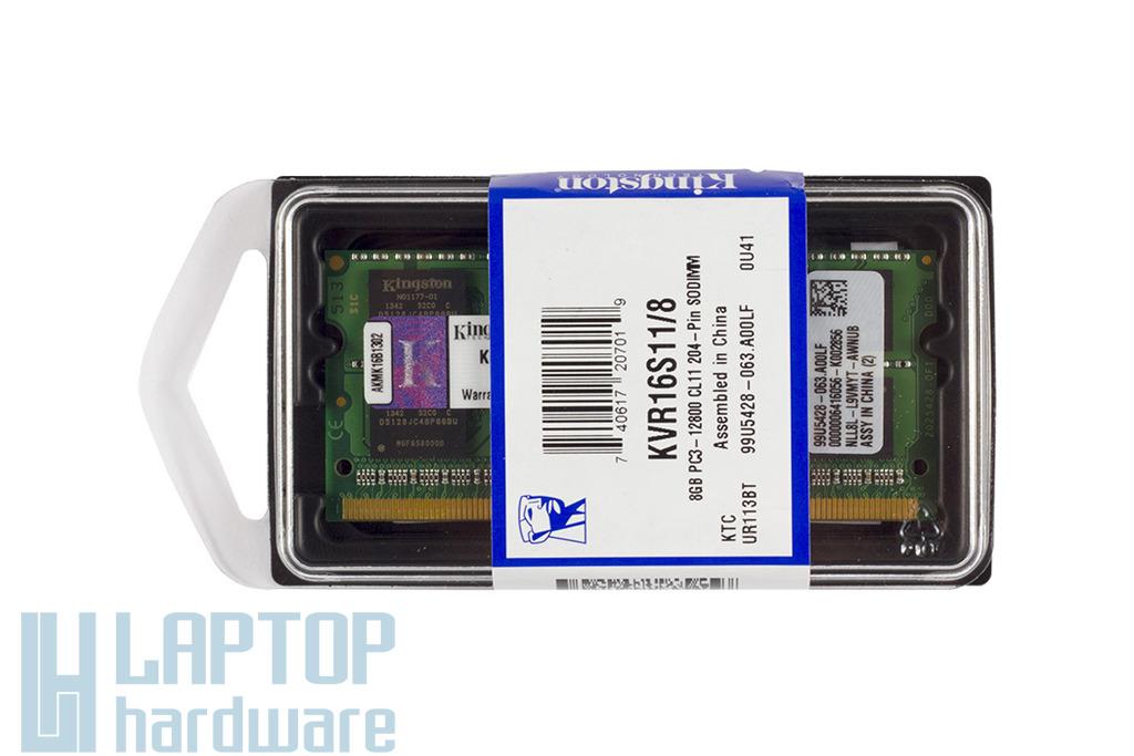 8GB DDR3 1600MHz gyári új laptop memória