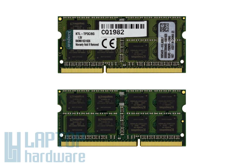 Kingston 8GB DDR3 1600MHz gyári új memória Lenovo laptopokhoz
