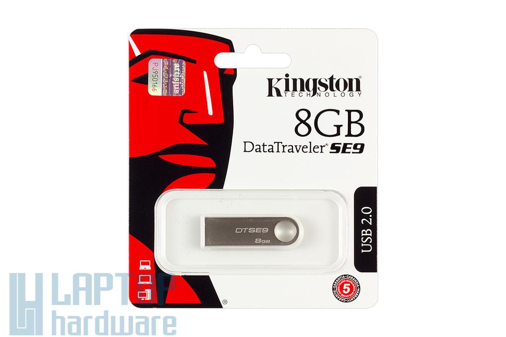 Kingston DataTraveler SE9 DTSE9 8GB USB 2.0 ezüst pendrive (DTSE9H/8GB)
