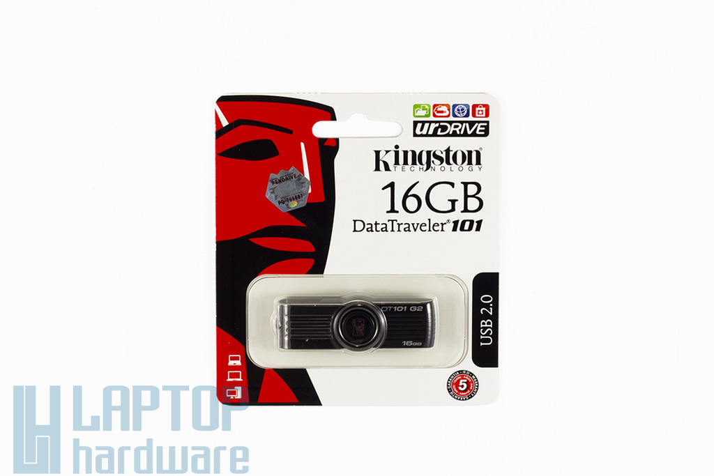 Kingston DataTraveler DT101 16GB fekete pendrive, DT101G2/16GB