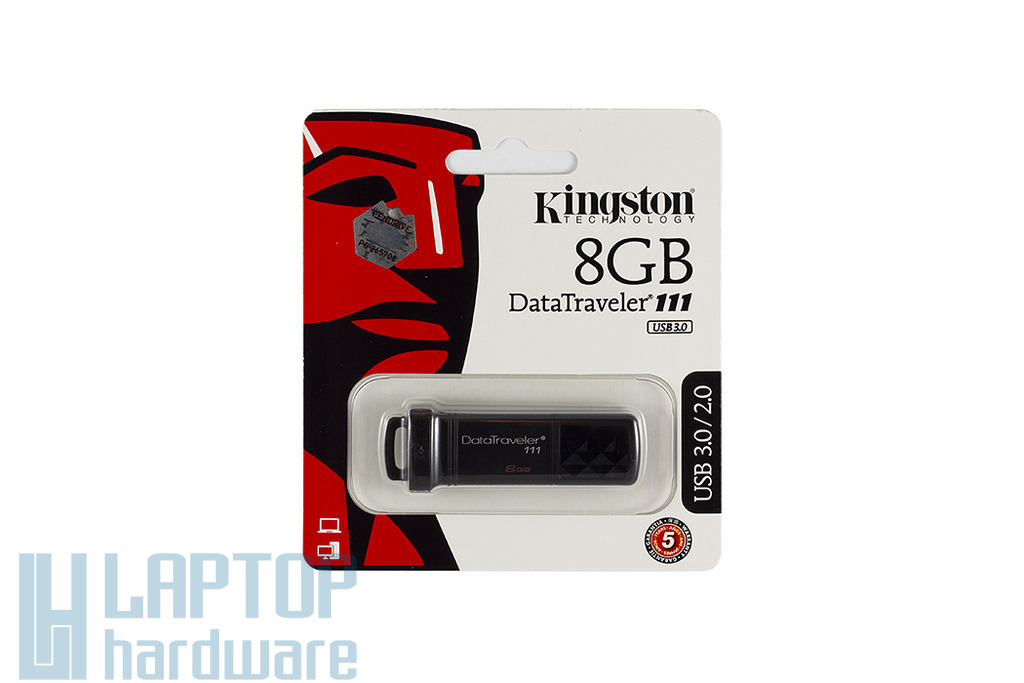 Kingston DT111 8GB fekete pendrive (DT111/8GB)