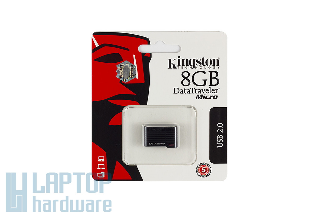 Kingston DataTraveler DTMCK 8GB fekete mikro pendrive (DTMCK/8GB)