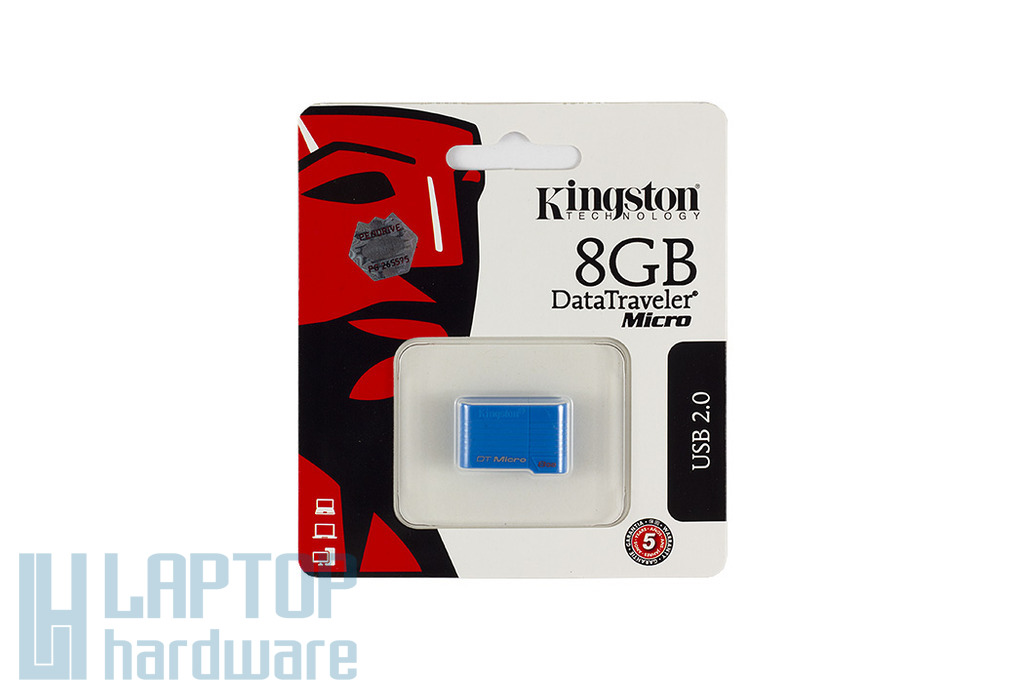 Kingston DTMCK 8GB kék mikro pendrive (DTMCK/8GB)