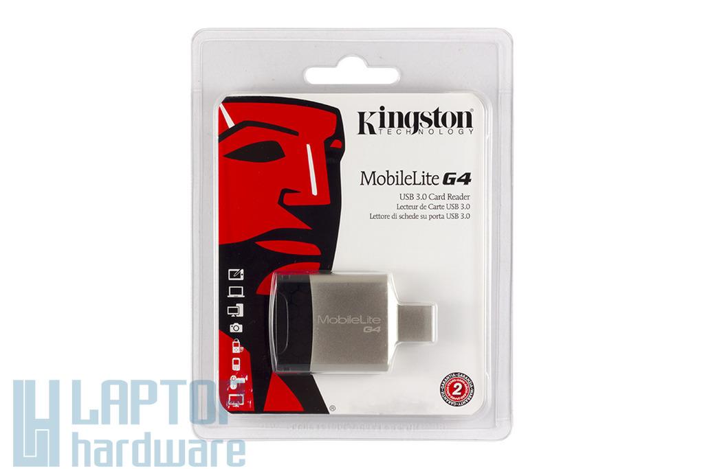 Kingston MobileLite G4 SD/MicroSD kártyaolvasó, USB3.0, FCR-MLG4