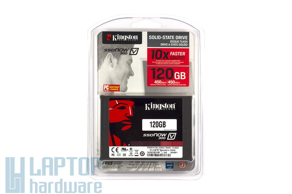 Kingston 120GB SSD meghajtó (SV300S37A/120G) | 3 év garancia! | Ingyenes beszereléssel!