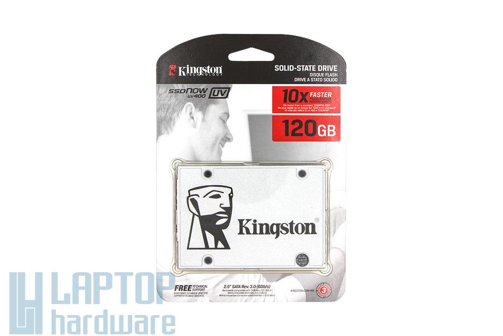 Kingston SSDNOW UV400 120GB SSD meghajtó (SUV400S37/120G) | 3 év garancia! | Ingyenes beszereléssel!