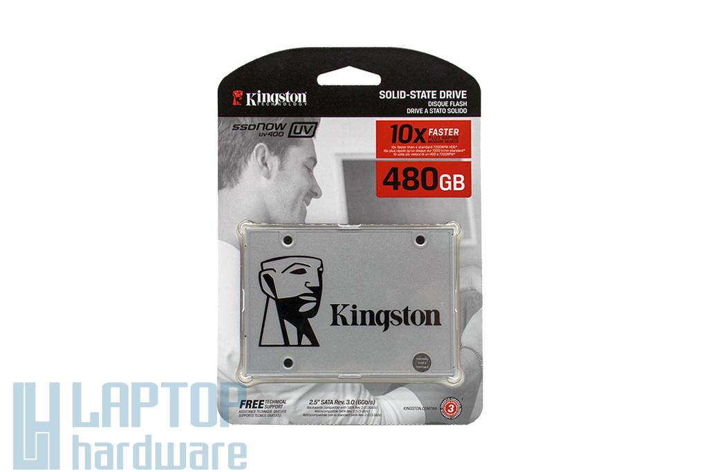 Kingston SSDNOW UV400 480GB SSD meghajtó (SUV400S37/480G) | 3 év garancia! | Ingyenes beszereléssel!