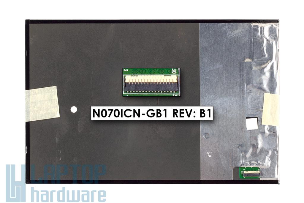 LCD kijelző modul (fényes, 7'') Asus MeMO Pad HD 7 (ME173X), Fonepad 7 (ME372CG) tablethez (N070ICN-GB1 Rev: B1)