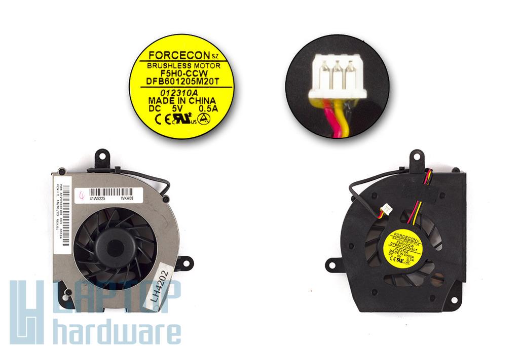 Lenovo 3000 C100, C200, N100 gyári új laptop hűtő ventilátor (FRU 41W5225)