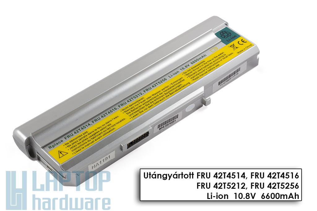 Lenovo 3000 C200, N100, N200 helyettesítő új 9 cellás laptop akku/akkumulátor (42T4663)