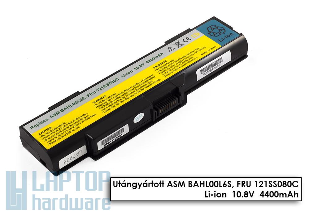 Lenovo 3000 G400, G410 helyettesítő új 6 cellás laptop akku/akkumulátor (FRU 121SS080C)