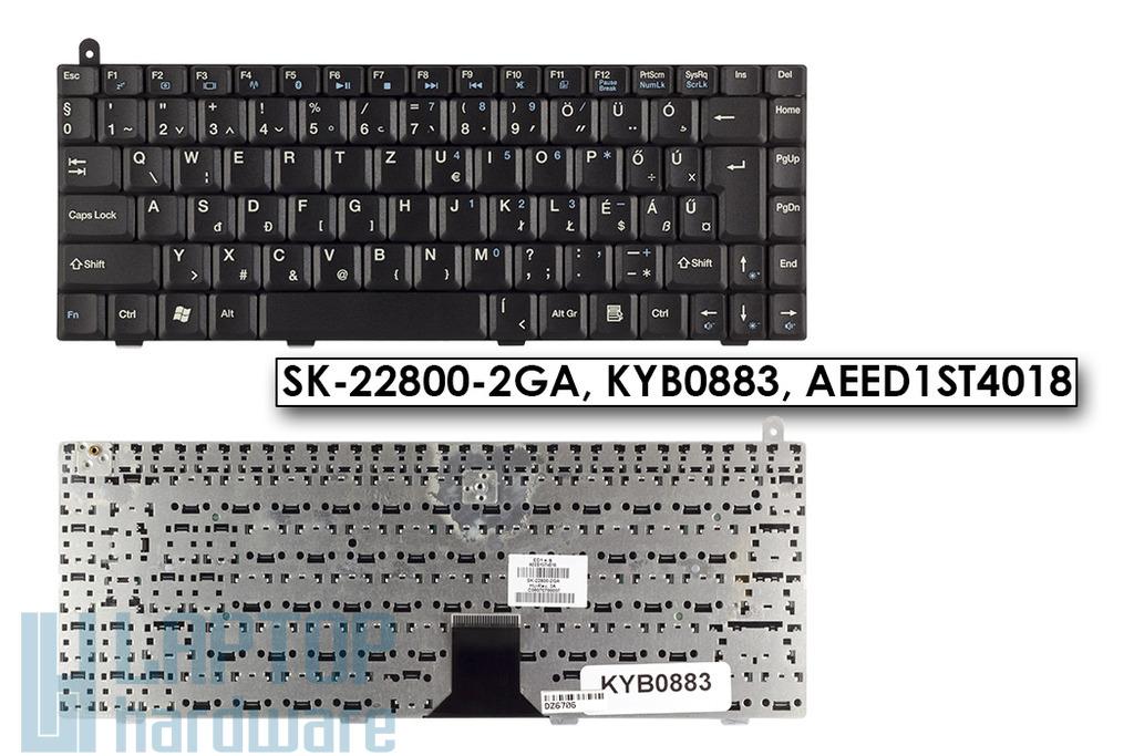 Lenovo 3000 Y200, Packard Bell EasyNote A5, A7, A8 gyári új magyar laptop billentyűzet (SK-22800-2GA)