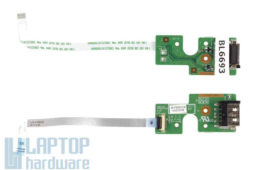 Lenovo B580, B590 használt USB panel kábellel 55.4TG03.011G