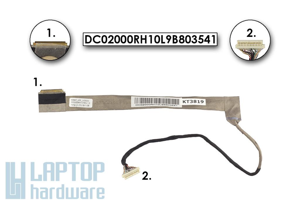Lenovo G550, B550 használt laptop LCD kábel, DC02000RH10L9B803541