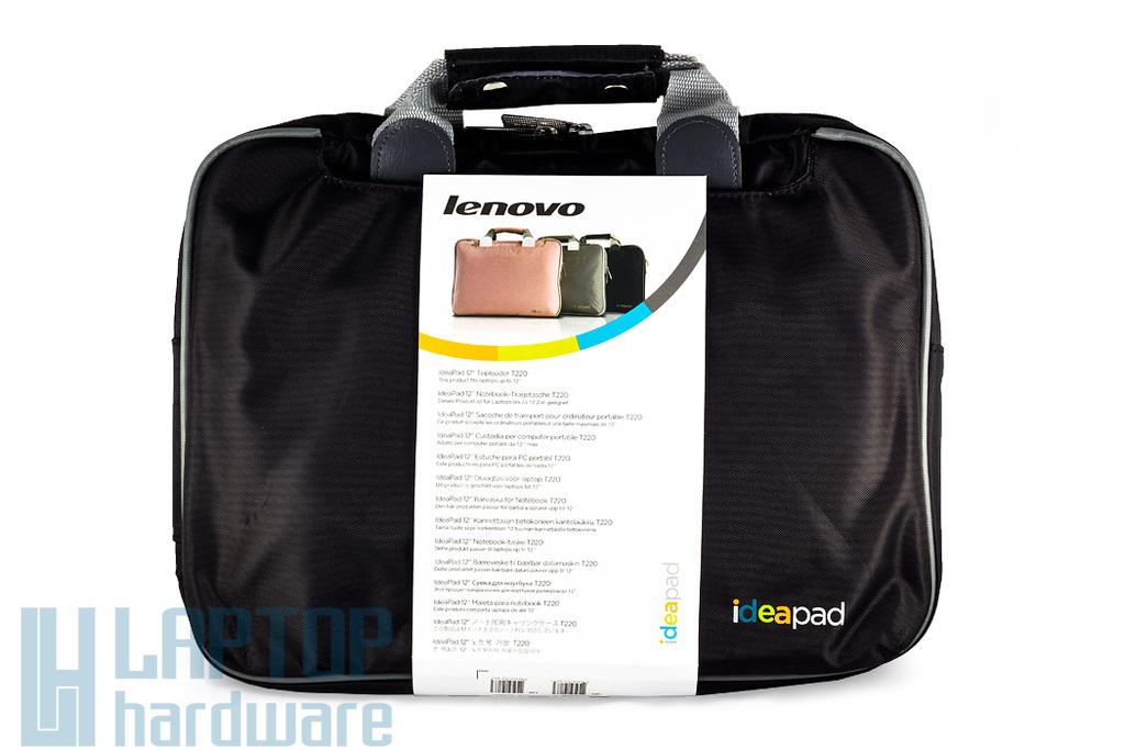 Lenovo IdeaPad 12'' fekete laptop táska