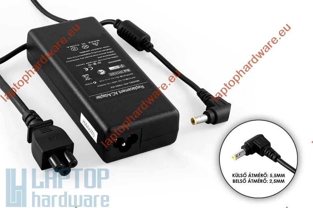 Lenovo IdeaPad 19V 4.74A 90W helyettesítő új laptop töltő