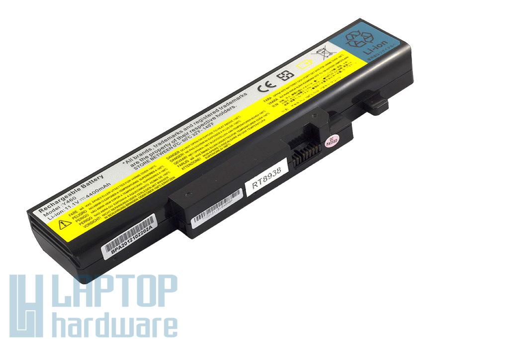 Lenovo IdeaPad B560, V560, Y460, Y560 helyettesítő új 6 cellás laptop akku/akkumulátor (57Y6440, L09L6D16)