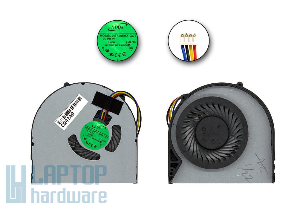 Lenovo IdeaPad B580, B590 gyári új laptop hűtő ventilátor (AB7205HX-GC1 JAL50)