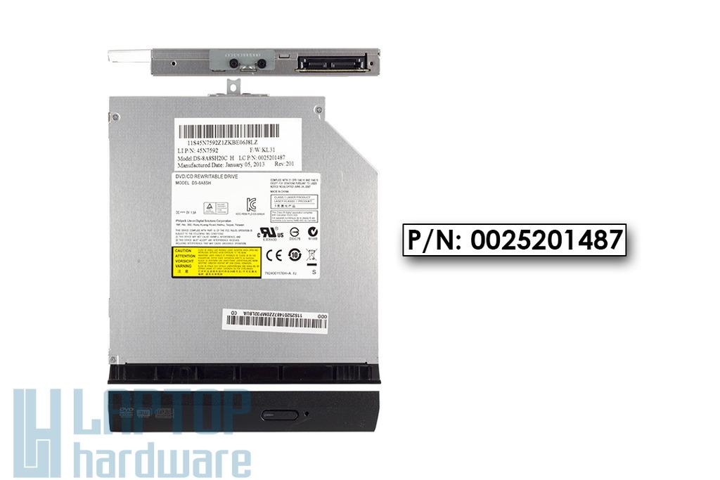 Lenovo Ideapad B590 használt SATA laptop DVD-író, DS-8A8SH20C