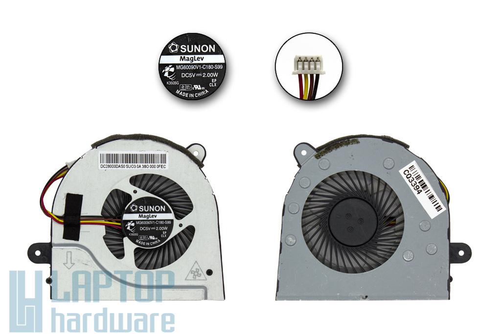 Lenovo IdeaPad G400, G500s gyári új laptop hűtő ventilátor (MG60090V1-C180-S99, FRU: 90202867)