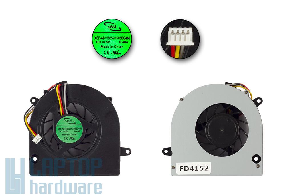 Lenovo IdeaPad G460, G560, Z460, Z560 gyári új laptop hűtő ventilátor, XSF-AB158659HS05BG460